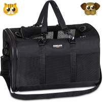 Soft-Sided Pet Travel Carrier,Airline Approved Pet Carriers for Medium Big Dog and Cat,Collapsible Cat Carrier Dog Carrier Bag.
