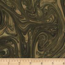 Michael Miller Marble Fabric, Bark, Fabric By The Yard