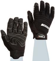 Cestus Handler Series BrickHandler Unparallel Grip Glove, Work, Cut Resistant, 2X-Large, Black (Pack of 1 Pair)