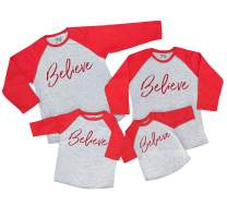 7 ate 9 Apparel Matching Family Christmas Shirts - Believe Red Shirt