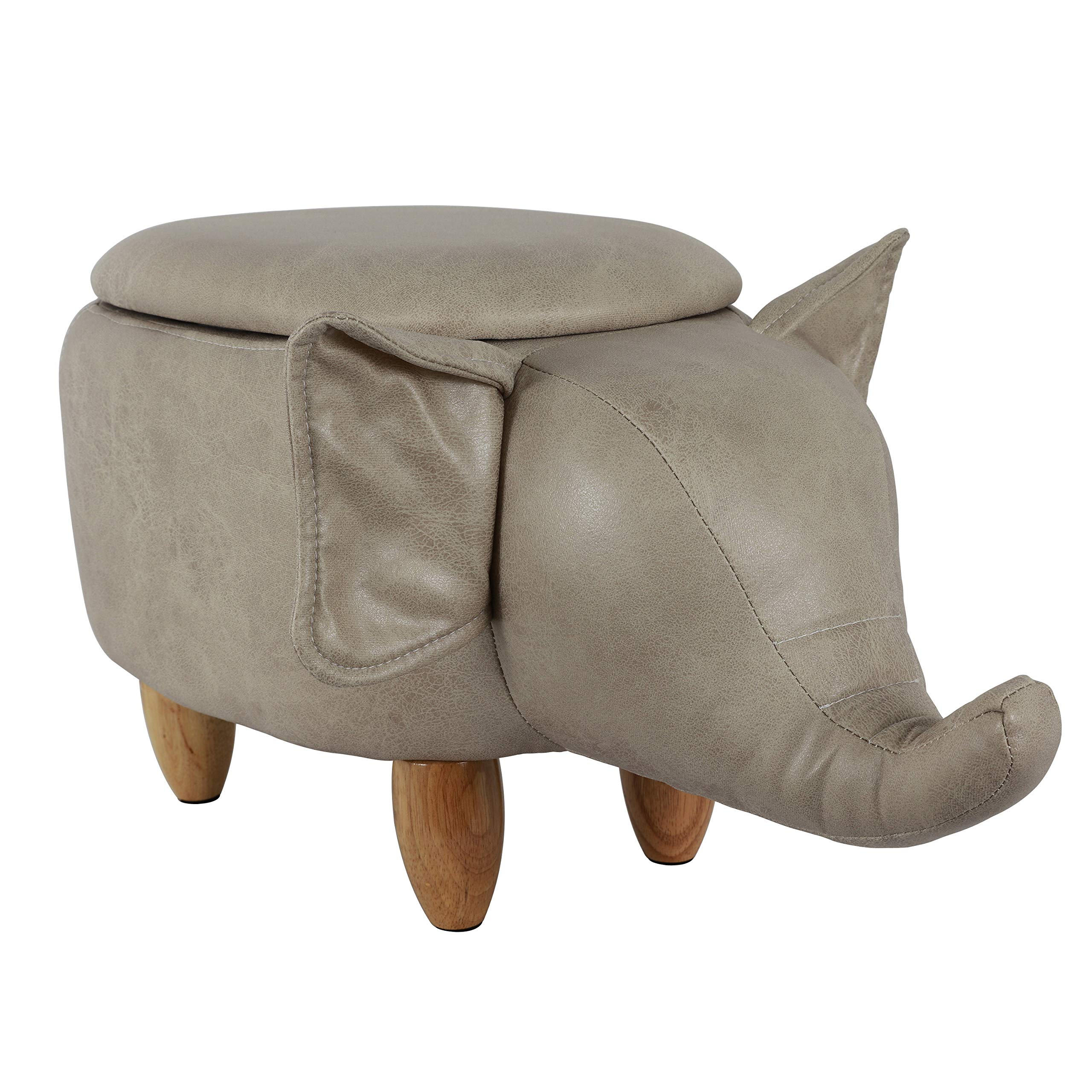 Decor Therapy Storage Stool, Elephant