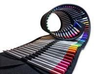OOKU Artist PRO Watercolor Pencils Set 72 Colors / 75 Pc Full Kit | Wet Water Color Pencils Set/Dry Coloring Pencils Set for Adults, Kids | w/BONUS Wool Pencil Wrap, Watercolor Brush, Sharpener