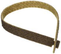 "CS Unitec 49001 PTX Fleece Nonwoven Belts, Open, Coarse, Brown, 26"" Long x 1.2"" Wide"