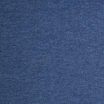 Telio Stretch Organic Cotton Melange Jersey Fabric, Denim Blue, Fabric By The Yard