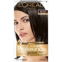 L'Oreal Paris Superior Preference Fade-Defying + Shine Permanent Hair Color, 4A Dark Ash Brown, 1 kit Hair Dye
