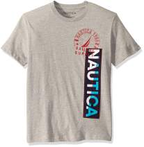 Nautica Crewneck 100% Cotton Logo T-Shirt