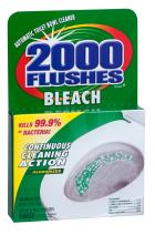 2000 Flushes 290071 Chlorine Antibacterial Automatic Toilet Bowl Cleaner 1.25 OZ (Pack of 12)