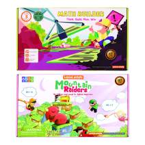 LogicRoots Math Games for Second Grade and Up. Addition Games for Kids, Number Scrabble to Build Equations, Stem Kits for Kids Age 8-10