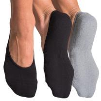 Pointe Studio Women's No-Show Below-Ankle Low-Cut Hidden Liner Athletic Socks