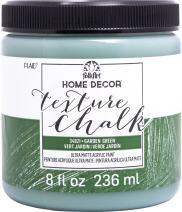 FolkArt Texture Chalk Paint, 8 oz, Garden green