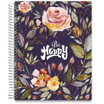 Tools4Wisdom Daily Planner 2020-2021 - Hardcover with 8.5x11 Colorful Interior - Vertical Weekly Layout - Monthly Calendar Tabs and Stickers (2020 2021 Academic Year, Q2S)