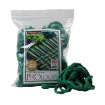 Harrisville Designs Friendly Loom Potholder Cotton Loops 10 Inch Pro Size Loops Make 2 Potholders, Weaving Crafts for Kids and Adults-Green