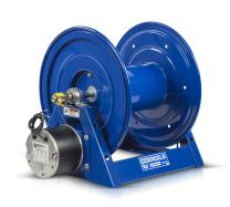 "Coxreels 1125-5-250-E Electric 12V DC 1/3HP Motor Rewind Hose Reel: 3/4"" I.D, 250' Hose Capacity, Less Hose, 3000 PSI"