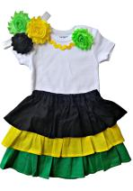 Perfect Pairz Jamaica Dress Clothes for Baby Clothing for The Caribbean