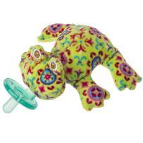 Mary Meyer WubbaNub Soft Toy and Infant Pacifier, Kiwi Frog