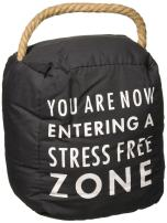 Pavilion Gift Company Stress Free Zone Door Stopper