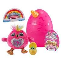 Rainbocorns Sparkle Heart Surprise Mystery Egg Plush by ZURU - Flamingo
