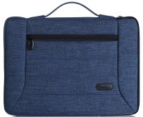"""Procase 13-13.5 Inch Laptop Sleeve Case Cover Bag for MacBook Pro Air, Surface Book, Most 12"""" 13"""" Laptop Ultrabook Notebook MacBook Chromebook -Navy Blue"""