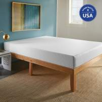 SLEEPINC. 10-Inch Memory Foam Mattress, Comfort Body Support, Bed in Box, Medium, Sleeps Cool, No Harmful Chemicals, Handcrafted in The USA, King