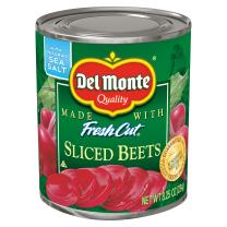 Del Monte Canned Fresh Cut Sliced Beets, 8.25-Ounce (Pack of 12)