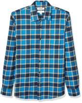 Amazon Brand - Goodthreads Men's Slim-Fit Long-Sleeve Brushed Flannel Shirt