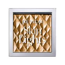 Revlon Skinlights Prismatic Highlighter, Powder Makeup, Buildable Shimmer, Gilded Dawn, 0.28 Oz
