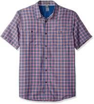 Quiksilver Men's Wake Plaid Fences S/S Shirts