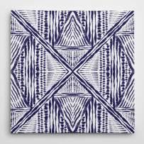 WEXFORD HOME Inky Kaleidoscope II-Premium Gallery Wrapped Canvas-4 Art Print, 40x40