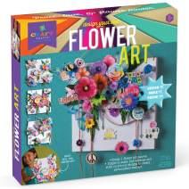 Craft-tastic - Design Your Own Flower Art Canvas - Craft Kit - Arrange Paper Flowers & Pre-Cut Designs to Create Personalized Art