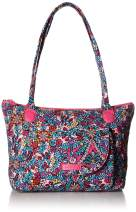 Vera Bradley Women's Signature Cotton Carson East West Tote Bag