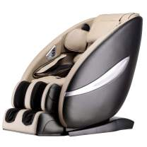 Full Body Massage Chair Zero Gravity Shiatsu Chair Recliner with Six Programs and Heat Massage Chair (Beige)