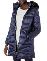 Cole Haan Women's Sateen Faux Down Maxi Coat