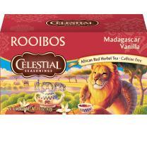 Celestial Seasonings Rooibos Tea, Madagascar Vanilla, 20 Count