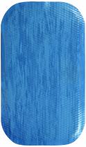 "M+A Matting 449 Blue Merle Nitrile Rubber Hog Heaven Anti-Fatigue Mat, Marble Top, 3' Length x 2' Width x 7/8"" Thick, for Indoor"
