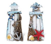CoTa Global Lighthouses - 3D Designs - Nautical Beach Magnet (2pc Set) - Item #7346