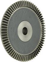 "Boston Gear PA6412Y-G Bevel Gear, 4:1 Ratio, 0.750"" Bore, 12 Pitch, 72 Teeth, 20 Degree Pressure Angle, Straight Bevel, Cast Iron"