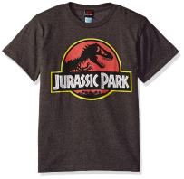 Jurassic Park Boys' Park Logo Graphic T-Shirt