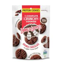 Lenny & Larry's The Complete Crunchy Cookies, Double Chocolate, 4.25 oz (Pack of 12)
