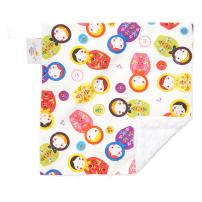 "Original Baby Elephant Ears Boys & Girls Baby Blanket-Soft Minky, for Newborn Infants & Toddlers, Plush Blanket - (Little Kukla, Mini 12"" x 12"")"