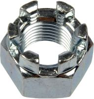 Dorman 220-014 Castle Hex Nut - 1/2-20 x 3/4 In., Pack of 50