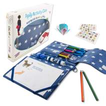 Arts and Crafts Set for Girls and Boys, Fun Activity Kit for Kids, with Games, Papercraft, Puzzles and Coloring Books. Great Gifts. Perfect for Travel. Ages 6-12