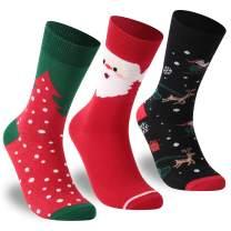Christmas Socks Women,Zonent Fancy Colorful Design Soft Socks Warm Winter Socks