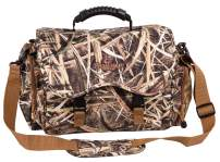 Flambeau Outdoors 6005SGB Floating Blind Bag, Shadow Grass Blades, Water-Resistant Hunting Supply Bag