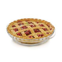 Libbey Baker's Basics 2-Piece Glass Deep Pie Plate Set