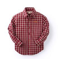 Hope & Henry Boys' Long Sleeve Poplin Button Down Shirt