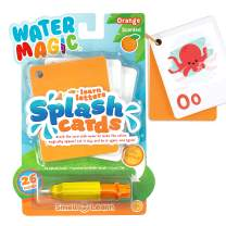 Scentco Water Magic Splash Cards - Reusable Water Reveal Learning Activity - Orange Scented Animal Alphabet