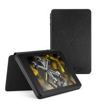 Standing Leather Case for Fire HD 6 (4th Generation), Black
