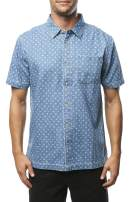 O'NEILL Men's Modern Fit Short Sleeve Button Down Shirt