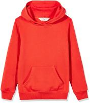 Kid Nation Kids' French Terry Oversized Solid Hoodie Sweatshirt for Boys Or Girls