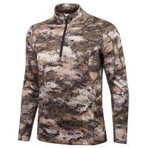 Huntworth Men's Weight ½ Zip Mid Layer Hunting Pullover